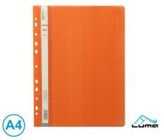 Rychlovazač A4 PP euro LUMA, oranžový