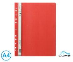 Rychlovazač A4 PP euro LUMA, červený