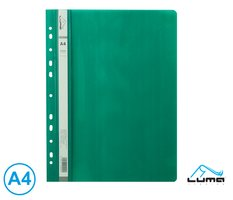 Rychlovazač A4 PP euro LUMA, zelený tmavě