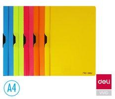 Desky na spisy s klipem A4  BLACK CLIP DELI E38964