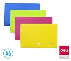 Desky na spisy A6 13 přihrádek DELI E5561