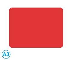Podložka modelovací A3 červená