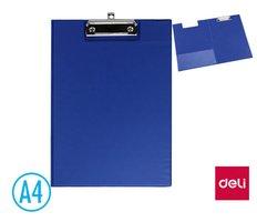 Podložka psací s klipem A4 DELI E38154A zavírací modrá