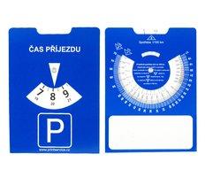 Parkovací hodiny papírové