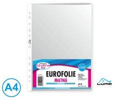 Eurofolie A4 -  matná 10ks LUMA