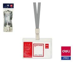 Šňůrka textilní šedá DELI E8352