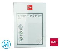 Laminovací fólie A4/80 mic, antistatická DELI E3816