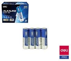 Baterie alkalická AAA mikrotužková LR03, 4ks DELI E18507