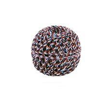 Motouz trikolora, příze lněná 200 x 3 40g