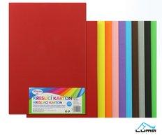 Kreslící karton barevný A3/225g mix, 50ks