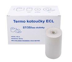 Kotouček do pokladny termocitlivý ECL 57/35 18m, EET