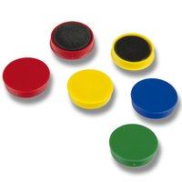 Magnety 9795 28mm mix barev - 1ks