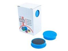 Magnety ARTA průměr 30mm, modré  10ks/bal. /cena za 1 ks/