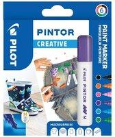 Sada PILOT Pintor Creative - M hrot 1,4 mm, 6ks 4076/S6-FUN
