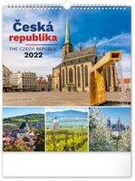 Kalendář nástěnný Česká republika  2022, 30 x 34 cm PGN-28968-L