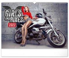 Kalendář nástěnný Girls & Bikes – Jim Gianatsis 2022, 48 x 33 cm PGN 28979-L