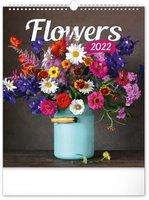 Kalendář nástěnný Květiny 2022, 30 x 34 cm PGN-28963-L
