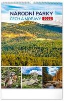 Kalendář nástěnný Národní parky Čech a Moravy 2022, 33 x 46 cm PGN-28941-L