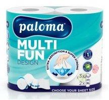 Utěrky kuchyňské-role PALOMA MULTI FUN s potiskem,3vrst.2x16,5m