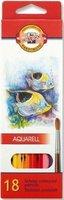 Pastelky 3717/18 akvarelové