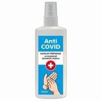 Anti-COVID dezinfekce na ruce  125 ml  s rozprašovačem