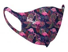 BAAGL Antibakteriální rouška pro děti Flamingo