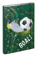 BAAGL Desky na školní sešity A4 Fotbal goal
