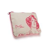 Plátěná etue Alfons Mucha – Ruby, Fresh Collection