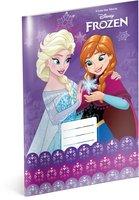 Školní sešit Frozen – Ledové království Violet, A4, 20 listů, linkovaný