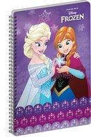 Spirálový blok Frozen – Ledové království Together, A5, linkovaný