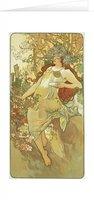 Blahopřání Alfons Mucha – Autumn