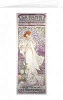 Blahopřání Alfons Mucha – La Dame aux Camélias