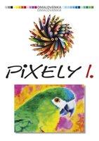Omalovánky A4 -PIXELY I.  BO0745
