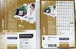 Etikety RAYFILM, A4/100, 210x297 lesklé bílé polyesterové laser, R0119.1123A