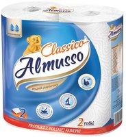 Utěrky kuchyňské-role Almusso,celulóza,bílé,2vrst. 2x10m