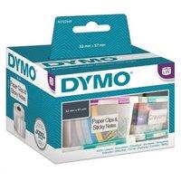 Papírové štítky DYMO  57mm x 32mm, bílé, multifunkční, 1000 ks, 11354, S0722540