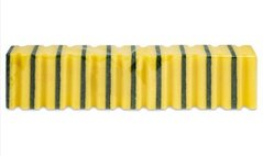 Houbičky frézové 10ks žluté