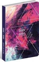Školní diář Abstrakt (září 2021 – prosinec 2022), 9,8 × 14,5 cm PGD-30248