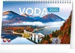 Kalendář stolní Voda,2022 23,1x14,5 cm PGS-30195