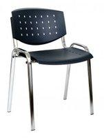 Židle Taurus PC LAYER, pvc (chromovaná konstrukce)