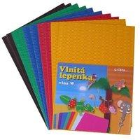 Lepenka W-Welle 260g 34,5x24.5cm/10listů zvlněná mix 2x5 barev 405201