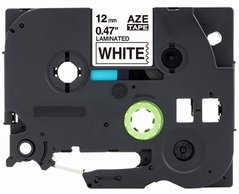 Páska BROTHER TZE-151 černý tisk/průsvitný podklad 24mmx8m, laminovaná