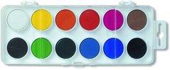 Barvy VODOVÉ 12ks/22.5mm               171510