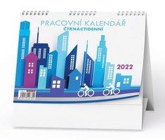 Kalendář stolní - Pracovní čtrnáctidenní BSB0-22