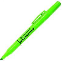 Zvýrazňovač 8722/1, zelený, 1-4mm, klínový hrot, CENTROPEN