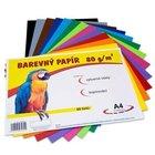 Papír A4/80g/60 12 barev, pro výtvarnou výchovu